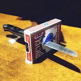 Knife thu block