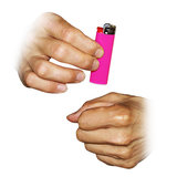 Vanishing lighter_