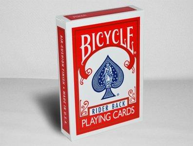 Bicycle kaarten rood