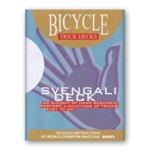 Bicycle Svengali deck rood
